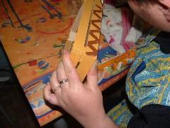 Fabrication d'objets décoratifs de l'ESAT St Pée